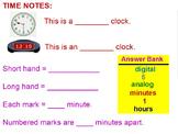 Promethean Flipchart on Telling Time
