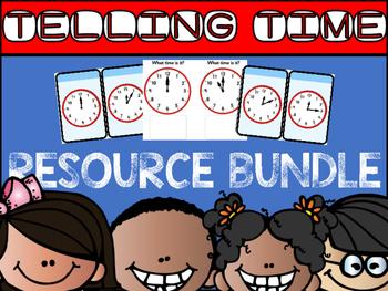 Telling time Resource Bundle