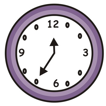 Telling time before the hour