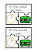Telling time jigsaw