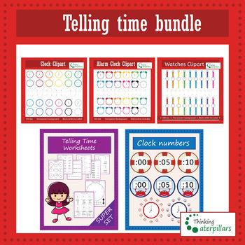 Telling time math bundle!