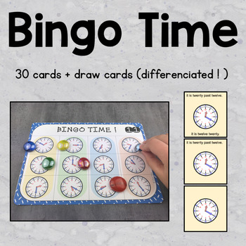 Telling time: puzzles / bingo / conversions / time zones