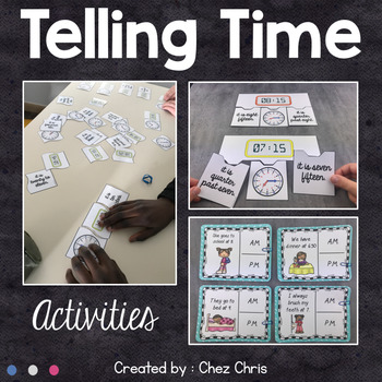 Time Unit - Telling Time Activities and Games