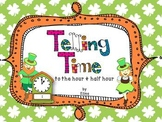 Telling time with the Leprechaun