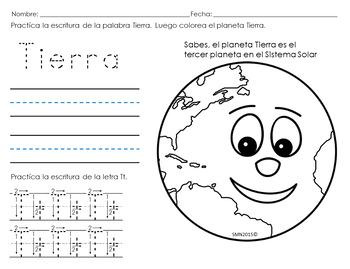 Tema: La Tierra