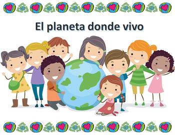 El planeta donde vivo: Actividades