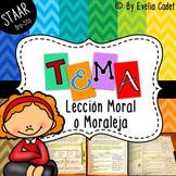 Tema-Lección Moral (Material de Instrucción y Evaluación a