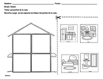 Tema: Partes de la casa