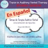 Temas de Terapia Auditivo-Verbal en español