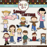 Temper Tantrum - Digi Clip Art/Digital Stamps - CU Clip Art