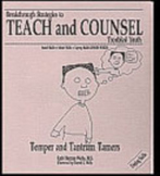 Temper and Tantrum Tamers Lesson Book with Worksheets