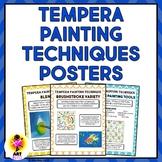 Tempera Painting Technique Posters