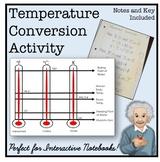 Temperature Conversion ISN Lesson