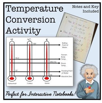 Temperature Conversion ISN Lesson