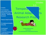 Temperate Forest Animal Adaptations Research Project