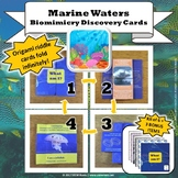 Marine Waters Biome Biomimicry Discovery Cards Kit   NGSS 1-LS1-1