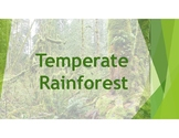 Temperate Rainforest includes definitions and pictures of