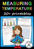 Measuring Temperature – 20 printables (Measurement & Data)