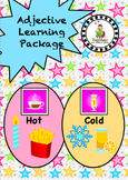 Temperature Adjective / Concept Learning Package inc. Hot