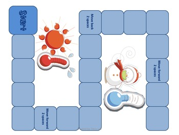 Temperature Board Game