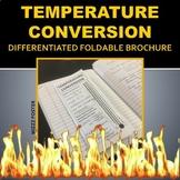 Temperature Conversion Foldable Brochure for INB (differentiated)