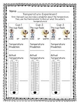 Temperature Experiment