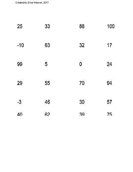 Temperature (Fahrenheit) Match