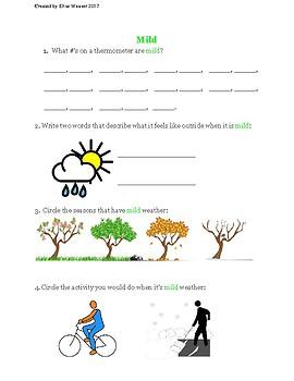 Temperature (Fahrenheit) Notes