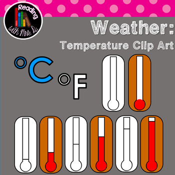 Temperature Generic Thermometer Clip Art