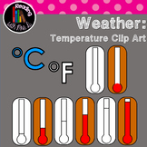 Temperature Generic Thermometer Clip Art