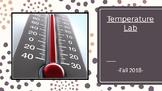 Temperature Lab