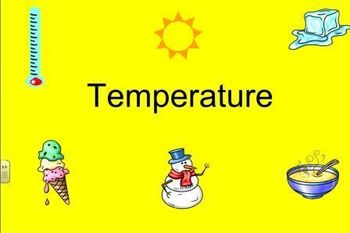 Temperature Lesson for Smart Notebook