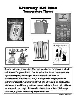 Temperature Literacy Kit Idea