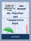 Temperature - My Weather and Temperature Book METRIC Measu
