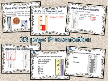 Temperature Powerpoint and Guided Notes