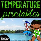 Temperature Printables: Fahrenheit and Celsius