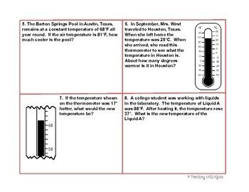 Temperature Problem Solving