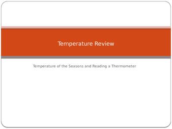 Temperature Review