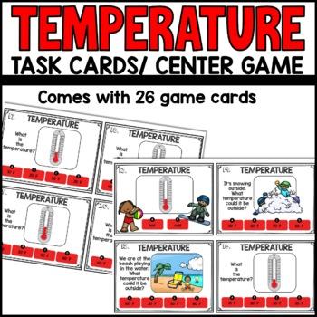 Temperature Task Cards