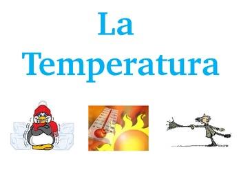 Temperature- Temperatura