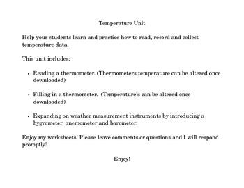 Temperature Unit