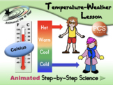 Temperature-Weather Lesson - Celsius - PCS