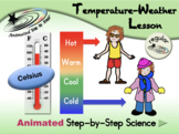 Temperature-Weather Lesson - Celsius - Regular