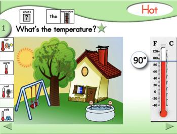 Temperature-Weather Lesson - Fahrenheit - PCS