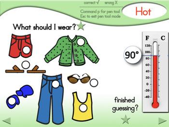 Temperature-Weather Lesson - Fahrenheit - Regular