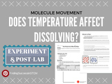 Temperature and Dissolving (Particle Motion) Lab