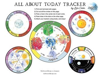 Calendar Board, Student Calendar Work Trackers