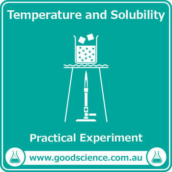 Temperature and Solubility [Practical]