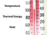 Temperature and Thermal Energy Power Point