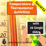 Temperature and Thermometer Activities for Special Education